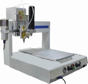 4 Axis Automatic Benchotop Dispensing Robot Epoxy Resin Industrial Glue Dispenser Machinery pictures & photos
