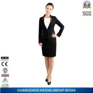 Custom Woman Fashion Business Slim Fit Suit (LSU04) pictures & photos