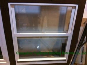Hot Sale Aluminium Profile Vertical Sliding Tint Glass Window pictures & photos