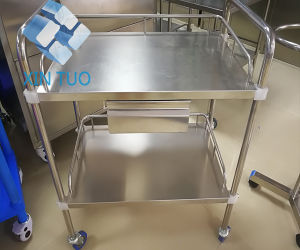Factory Direct Price Trolley Hospital Crash Medical Instrument Trolley pictures & photos