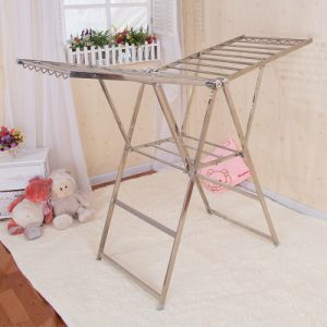 Stainless Steel Butterfly Shape Clothes Drying Rack (198d)