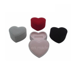 Heart Shaped Ring Box Velvet Ring Box Jewelry Box