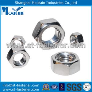 Ss304 Hex Thin Nuts with DIN934