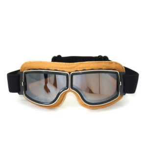 PU Leather Foam Anti Impact Polarized Sports Glasses Motocross Goggles pictures & photos