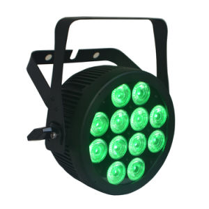 Ce Approved Compact RGBWA UV Stage Light LED PAR with Powercon Slim Aluminum Housing (12HX) pictures & photos