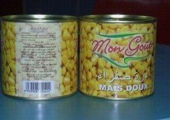 Canned Sweet Corn/Canned Vagetable