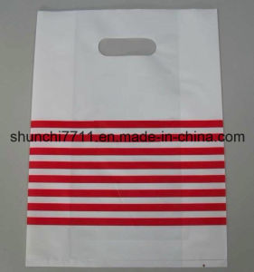 PE Punching Printing Shopping Bag pictures & photos