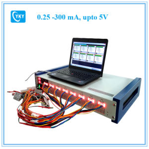8 Channel Battery Analyzer (0.25 -300 Ma, Upto 5V W/ Temperature Measurement and Laptop & Software pictures & photos