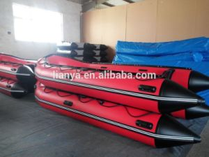 Liya Inflatable Boat Open Floor Boat with Motor Sale pictures & photos