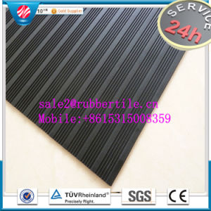 Cloth Insertion Anti-Abrasive Colorful Industrial Rubber Sheet pictures & photos