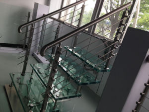 High Quality Indoor Steel Staircase pictures & photos