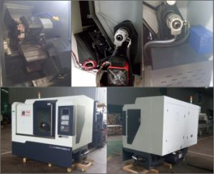 45 Degree Slant Bed CNC Turning Center HTC35 pictures & photos