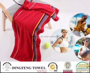 2015 Hot Sales 100% Cotton Jacquard Sport Tennis Towel pictures & photos