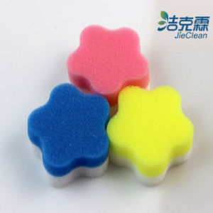 Fiower Shape- Melamine Foam Sponge pictures & photos