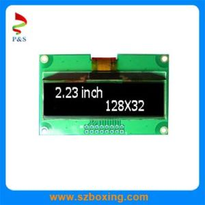 2.23 Inch Monochrome OLED Display, White Color pictures & photos