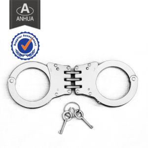 High Quality Police Hinged Stainless Steel Handcuff pictures & photos