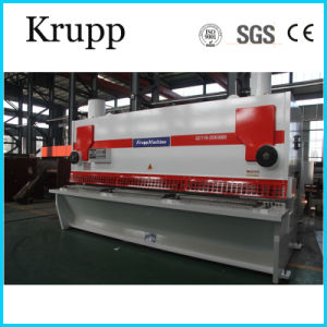 QC11k Guillotine Hydraulic Steel Plate Shearing Machine for Sale