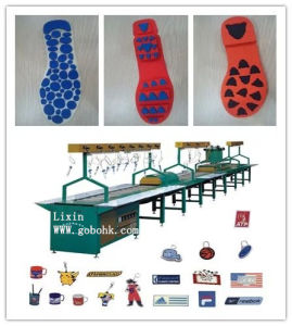 Hot Sale Automatic PVC Shoe Sole Making Machine pictures & photos