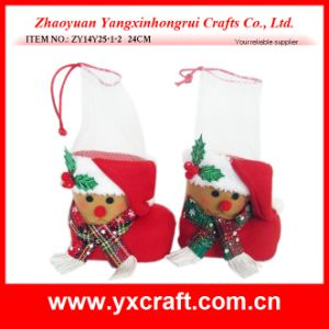 Christmas Decoration (ZY14Y25-1-2) Reindeer Boots Pet Packaging pictures & photos