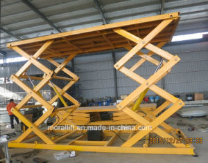 Garage Parking Car Lift Auto Lift with Hydraulic Drive pictures & photos