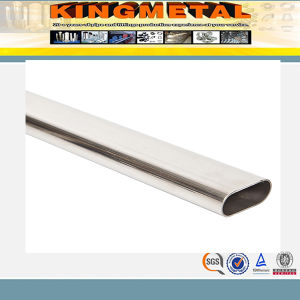 304 Welded Oval Stainless Steel Tube for Decoration pictures & photos
