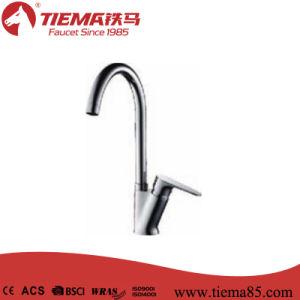 40mm Ceramic Cartridge Classic Design Mixer Brass Sink Kitchen Faucet (ZS50305) pictures & photos