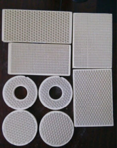Ceramic Plate Infrared Ceramic Plate Used in Gas Burner pictures & photos