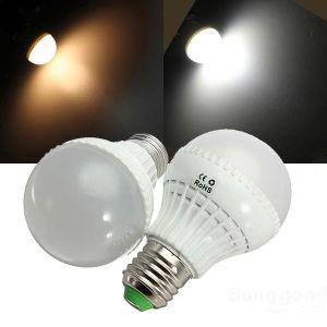 5630 SMD E27 3W/5W/7W/9W 220V White Color LED Bulb pictures & photos