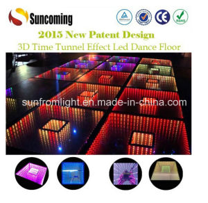 China Supplier New Products 3D Mirror Dance Floor pictures & photos