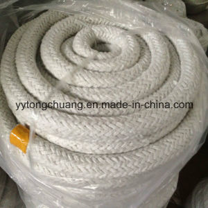 Round-Braided Glass Reinforced Ceramic Fiber Rope Temperature Resistant up to 1050c pictures & photos