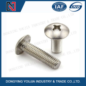 Jisb1111t Stainless Steel Cross Recessed Round Head Screw pictures & photos