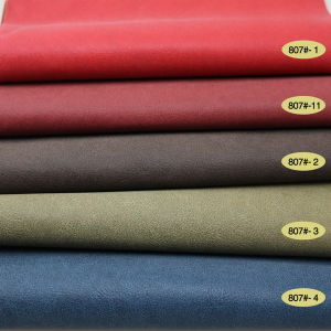 Bright PU Leather for Furniture Car Seat Cover (807#) pictures & photos