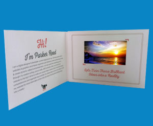 "4.3"" Video Display Greeting Card (TF-6025) pictures & photos"