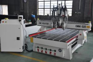 Omni 1300*2500mm Multi-Spindles Woodworking CNC Router pictures & photos