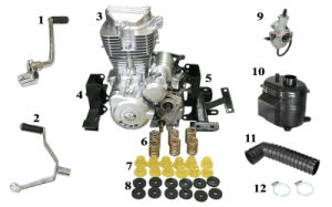 Spare Part of Tricycle Power System pictures & photos
