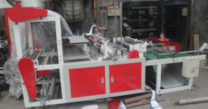 Heat Sealing and Cold Cutting Plastic Bag Making Machine pictures & photos