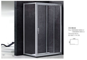 Simple Acid Glass Shower Room Wg-9018