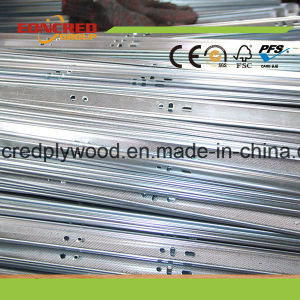 Eoncred Group Manufacture Three Fold Ball Bearing Drawer Slide pictures & photos