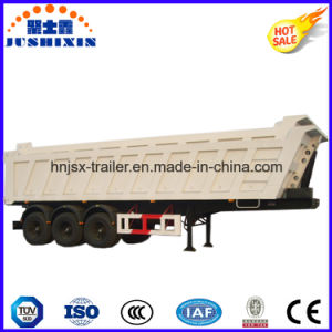 Hydraulic Type 3 Axles Dump Semi Trailer pictures & photos