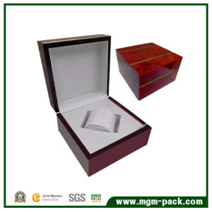 Custom Made High Polished Finish Wooden Watch Box pictures & photos