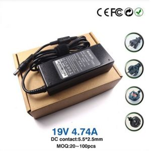 European Power Adapter 19V 4.74A 90W Notebook AC Adapter Charger 5.5*2.5mm for Asus/Toshiba/Lenovo ADP-90sb U1 U3 S5 W3 W7 Z3