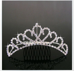 Bridal Wedding Bride Pageant Hair Jewelry Crown Tiara T004 pictures & photos