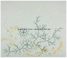 High Quality Embroidery Linen Fabric Scrapbook Album pictures & photos