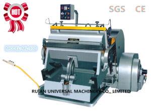 Carton Die Cutting Machine (ML-930) pictures & photos