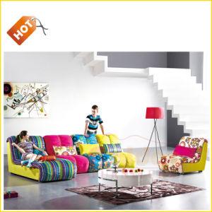 Best Color Sofa 2014 Colorful Fabric Sofa Set Em-875# pictures & photos
