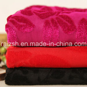 Jacquard Velvet Fabric Seat Cover 75D Winter Accessories Fabric pictures & photos
