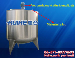 Sanitary Cold and Hot Cylinder for Dairy Product pictures & photos