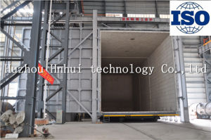 Trolly Type Gas Annealing Furnace with Lifting Door pictures & photos