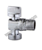 Brass Chrome Reduced Male Threaded Angle Valve pictures & photos
