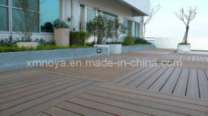 Outside Wood Plastic Composite WPC Floor Decking for Outdoor Garden pictures & photos
